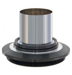 Adapter fotograficzny T2 (M42x0,75) / 23 mm krótki profil (adapter mikroskopowy)