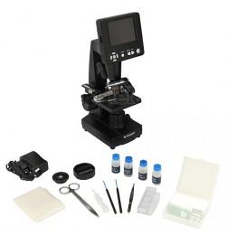 Mikroskop Bresser Biolux LCD z wyświetlaczem 3,5