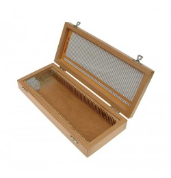 Drewniane pudełko etui na 50 preparatów