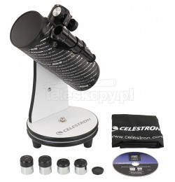 Celestron N-76 FirstScope IYA with set of extra accessories
