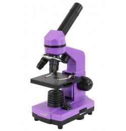 Mikroskop Levenhuk 2L 40-400x fioletowy (AMETHYST)