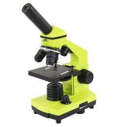 Levenhuk 2L Plus 64x-640x microscope LIME