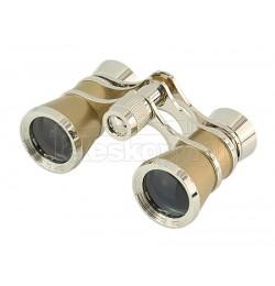 3x25 theatre binocular gold