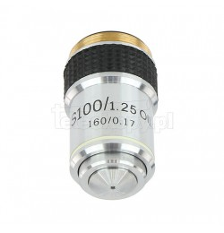 Objective for biological microscopes, 100x