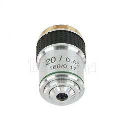 Objective for biological microscopes, 20x