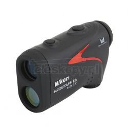 Dalmierz laserowy Nikon Prostaff 3i (7,3 - 590 m, dokł. 0,1 m,  wybór priorytetu pomiaru, nachylenie)