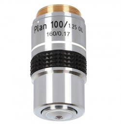 10x planachromatic objective for Delta Optical Genetic Pro / Evolution 100