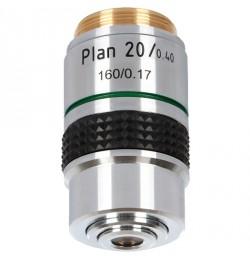 20x planachromatic objective for Delta Optical Genetic Pro / Evolution 100