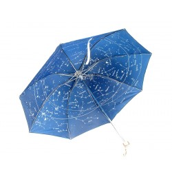Astro umbrella with sky map on inner side (blue)