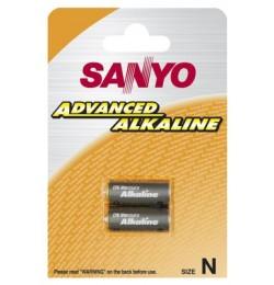 Bateria Sanyo LR1 (m.in. do noktowizorów Dipol) w blistrze (2 sztuki)