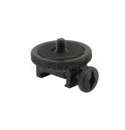 Adapter fotograficzny 1/4 na szynę Weaver 22 mm